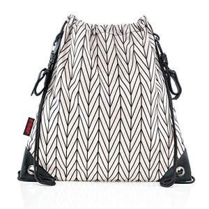 Reer 84082 Clip&Go Bag Sac de courses élégant Grand sac de gym imperméable pour poussette Multicolore