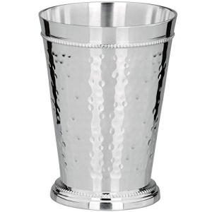 silberkanne Frankfurt Tasse avec Bord perlé Argenté 5,5 cm