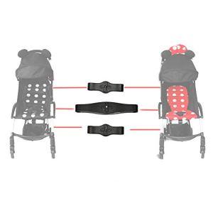 duhe189014 Lot de 3 connecteurs de Poussette pour Poussette de bébé avec Double Poussette pour Yoyo/Aiqi/Yoya/Kidd/VOVO