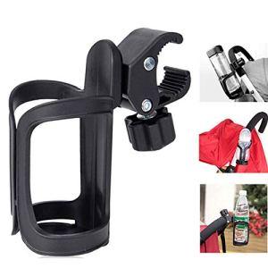 Spurtar Porte-gobelet pour poussette avec rotation à 360 degrés pour poussette, marcheur, fauteuil roulant, chariot, déambulateur (Mode 1)