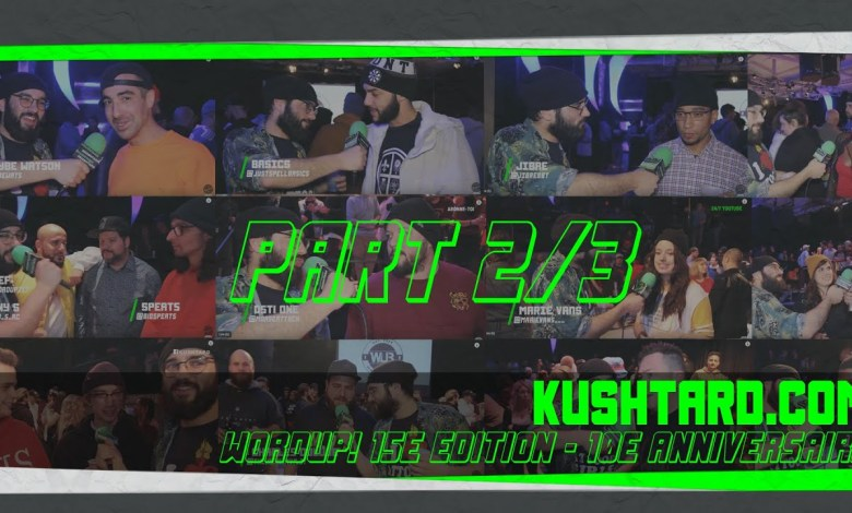 Photo of Wordup! Battles 10e anniversaires X Kushtard.com X Pt 2 sur 3