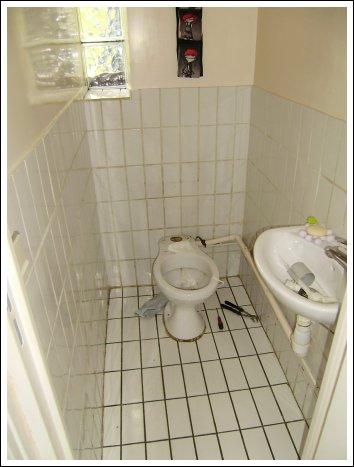 avant apr s r novation de toilettes. Black Bedroom Furniture Sets. Home Design Ideas