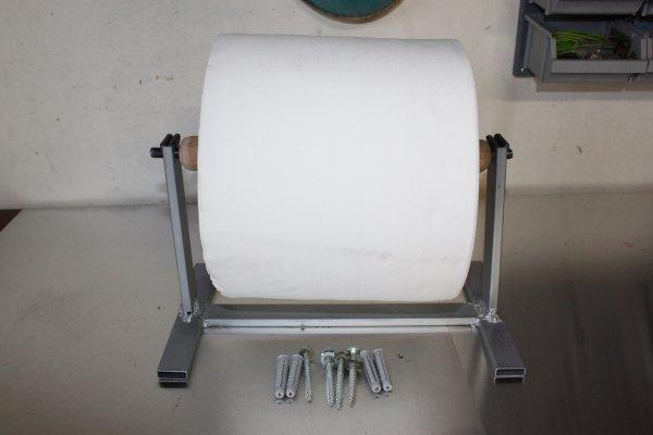 fabriquer un derouleur essuie main