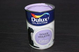 Peinture acrylique Dulux valentine crème de Couleur - couleur Douce Violette