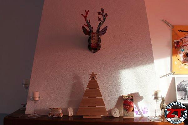 cr ation fabriquer son sapin de no l en bois. Black Bedroom Furniture Sets. Home Design Ideas