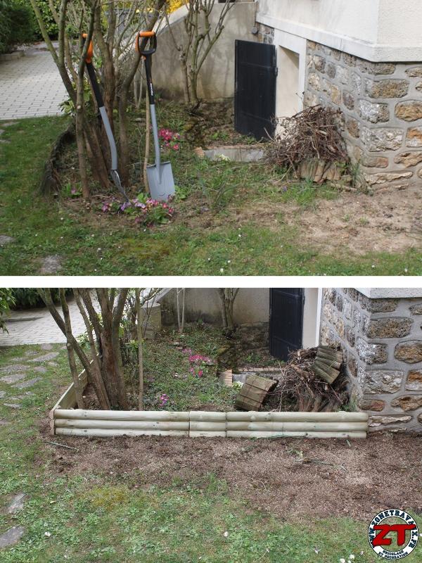 tuto installer des bordures de jardin. Black Bedroom Furniture Sets. Home Design Ideas