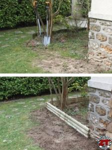Bordure de jardin avant apres (2)
