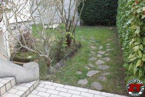 Installer bordure de jardin