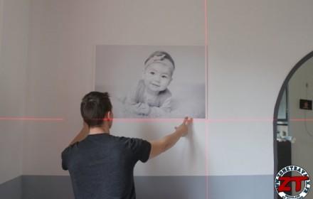 Installer tableau sur mur (8)