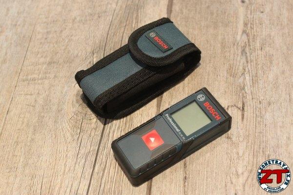 Test t l m tre laser glm 30 bosch pro - Telemetre laser bosch ...