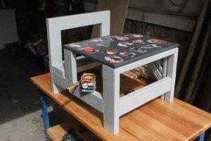Fabriquer table ecolier enfant (47)