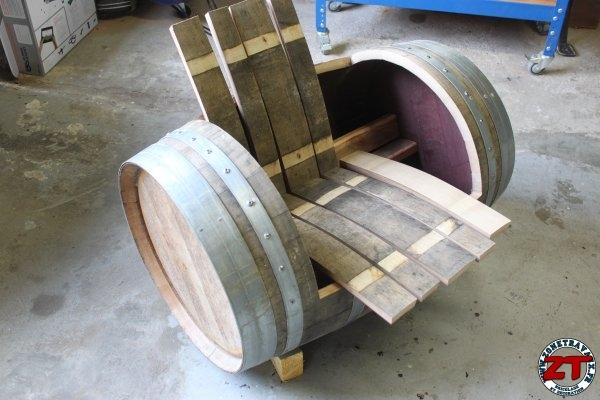 Créa : Fabriquer une chaise barrique (1/2)