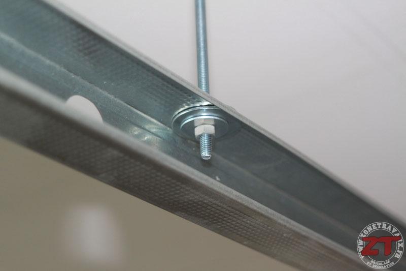 Brico Cration Dun Faux Plafond Avec Ruban LED Et Spots