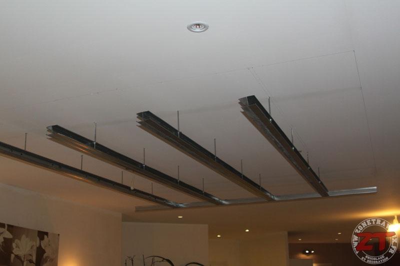 Brico : Création D'Un Faux Plafond Avec Ruban Led Et Spots