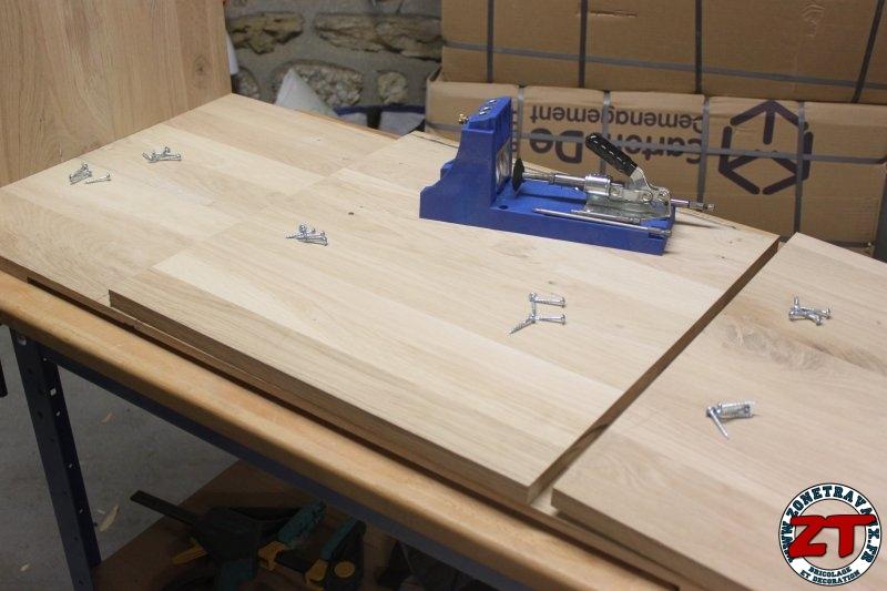 Fabriquer Meuble Salle De Bain Angle : Tuto fabriquer un meuble vasque de salle bain