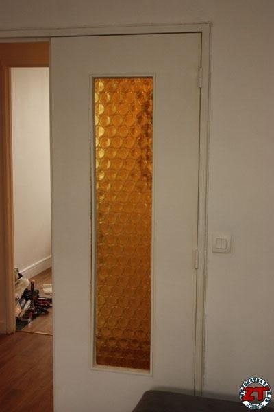 changer des vitres sur une porte