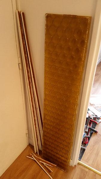 Tuto changer des vitres sur une porte int rieure - Enlever une porte interieure ...