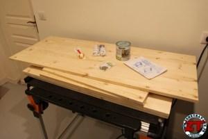Tuto DIY table ecolier evolutive rangement