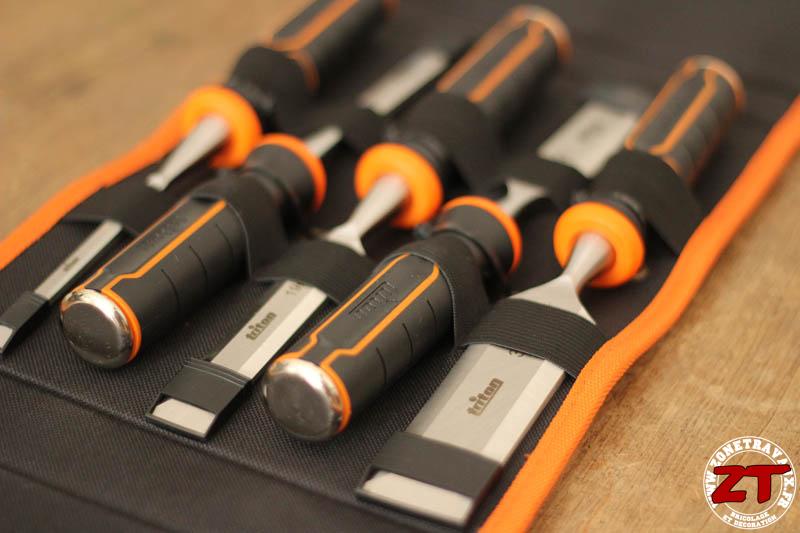 Test outillage main le coffret de ciseaux bois twc triton - Outil pour deplacer meuble ...