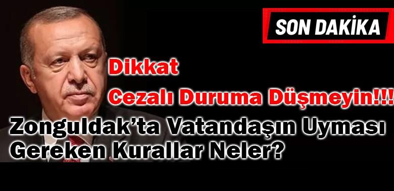 Zonguldak'ın Uyması Gereken Kurallar Neler? İşte Madde Madde Tüm Kurallar