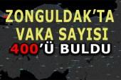 Zonguldak'ta Vaka ve Ölü Sayısı Artıyor