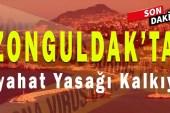 Zonguldak'ta Seyahat Yasağı Kaldırılıyor