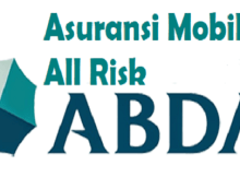 Premi Asuransi Mobil All Risk ABDA dan Total Loss Only (TLO)