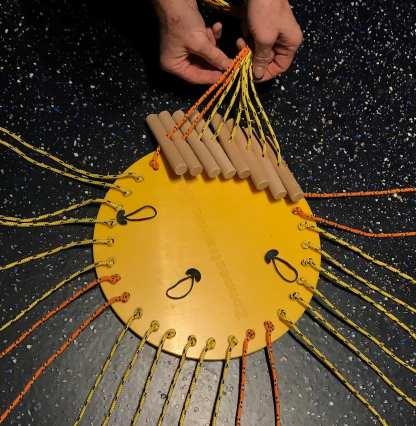 Zonnestraolenspel met kunststof platform, handvatten schuiven