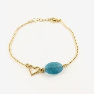 Armband-met-jade-goudkleurig-edelsteen-armband
