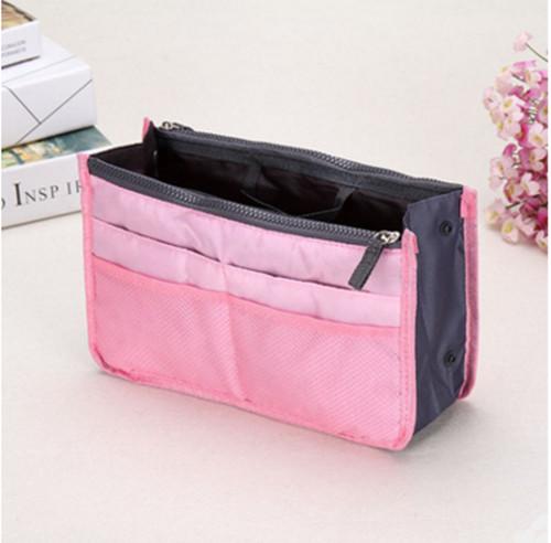 Tas organizer (bag-in-bag) zacht roze