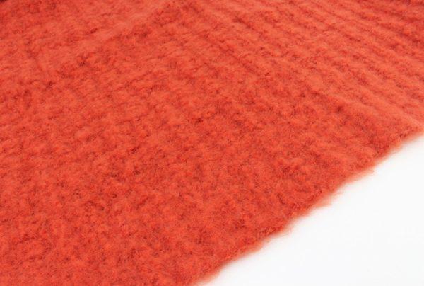 Warme sjaal oranje