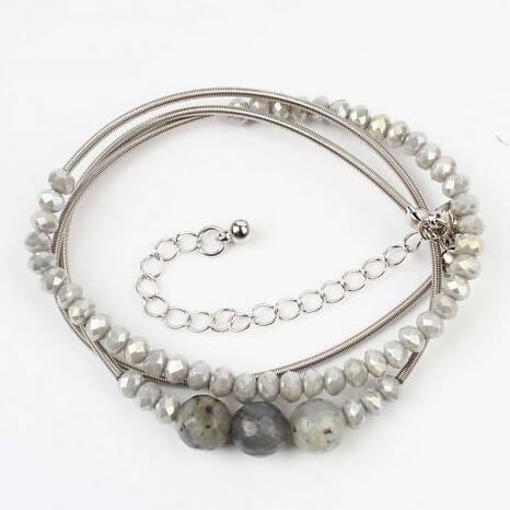 wikkel armband met kralen (1)