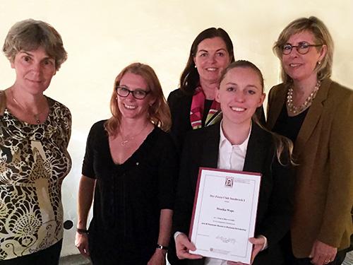 Zonta Club Innsbruck I - Projekt - Jane M. Klausmann Women in Business