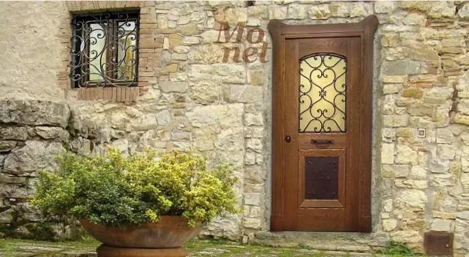 porta blindata a vetro roma