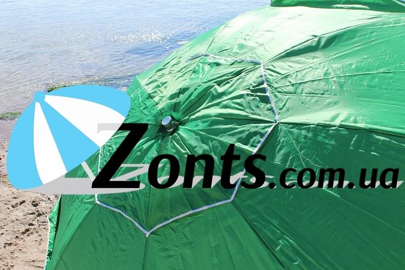 Пляжный зонт имеет клапан напыление ультрафиолетовую защиту