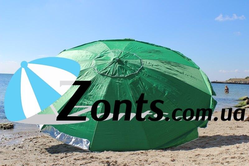 Садовый Зонт прочный большой крепкий надежный тяжелый 3,5 метра торговый