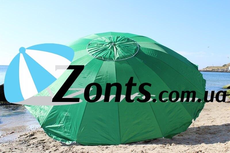 Зонт тент купить для сада торговли 3,5 метра 16 спиц