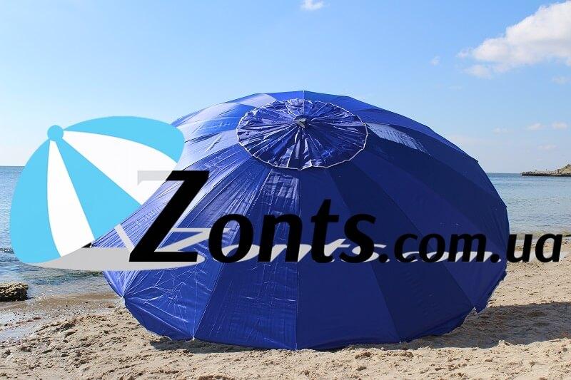 Зонт торговый садовый прочный юольшой качественный зонт для сада или дачи кафе бара