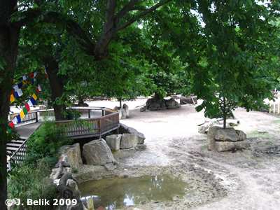 Nashornpark, Besucherkanzel, 16. Juni 2009