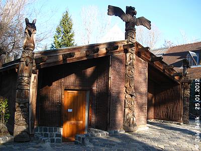 Die Wombats haben ein eigenes Haus bekommen, Zoo Budapest, 25. Jänner 2012