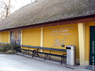 """Das Valerie H. Schindler Insektarium """"Haus der Schrecken"""", 22. März 2012"""