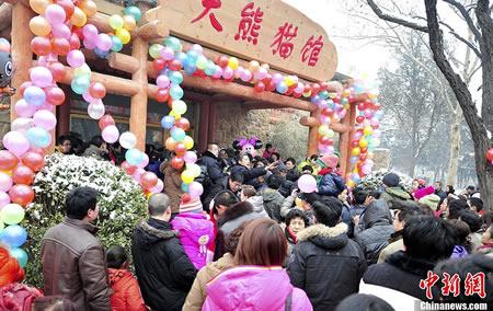 Eingang Pandamuseum