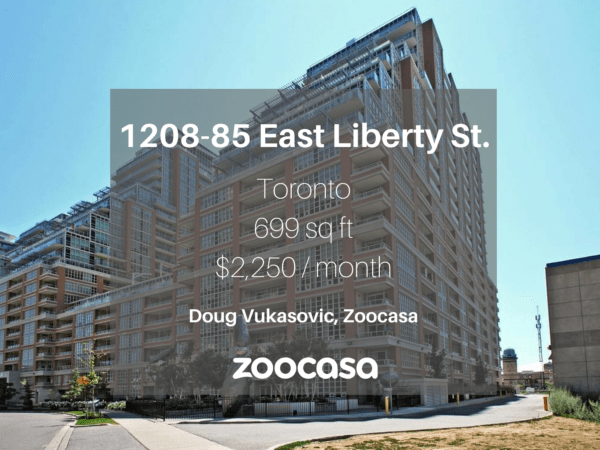 1208-85 East Liberty Street is for lease