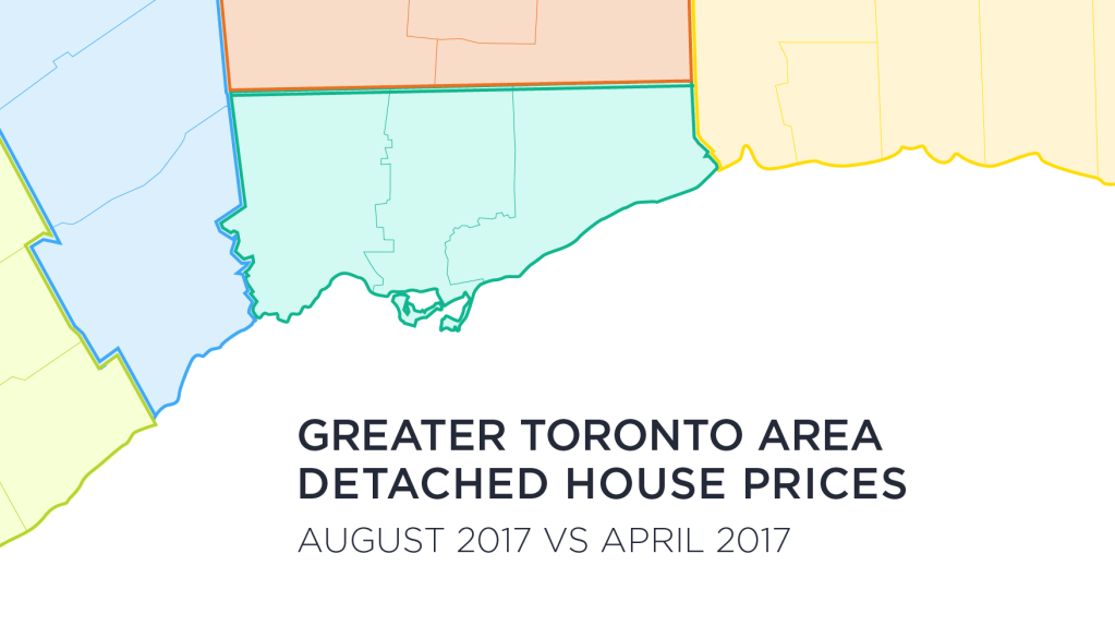 GTA House Prices Fall Double Digits