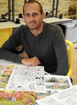 Beno, auteur BD de Zoo Dingo