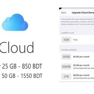 iCloud Storage plan