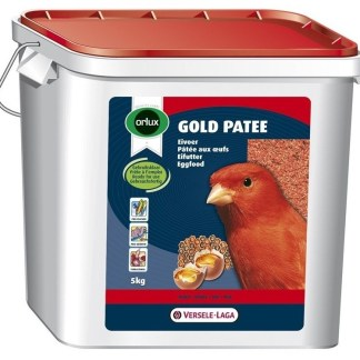Мека яйчна храна за червени канари VERSELE LAGA OROLUX GOLD PATEE RED CANARIES, 5 kg