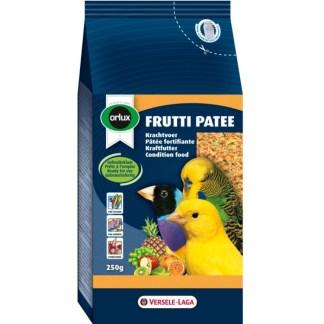 Енергийна храна за канари, финки, вълнисти и др. малки папагали VERSELE LAGA OROLUX FRUTTI PATEE със сушени плодове и мед, 1 kg