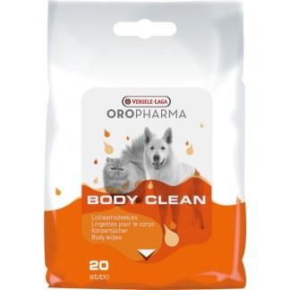 Мокри кърпички VERSELE LAGA OROPHARMA BODY CLEAN, 20 бр