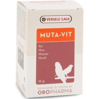Комплекс от витамини за птици, аминокиселини и микроелементи за добро оперение на прах VERSELE LAGA MUTA-VIT, 200 g